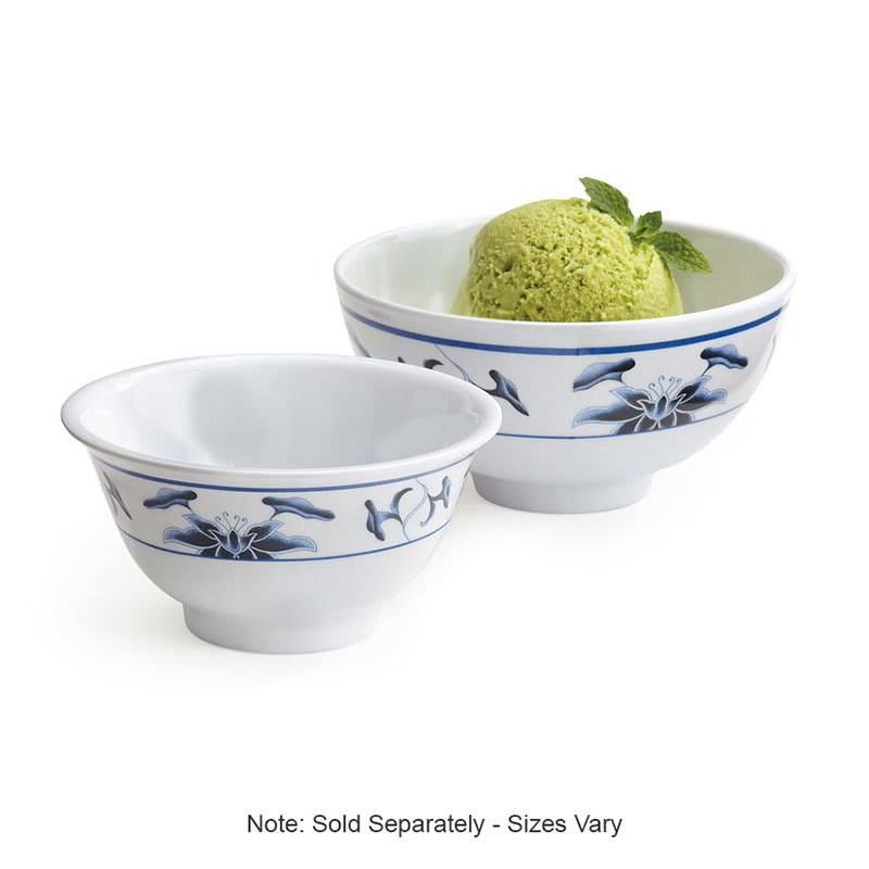 "GET M-768-B 4.5"" Round Rice Bowl w/ 9-oz Capacity, Melamine, White"