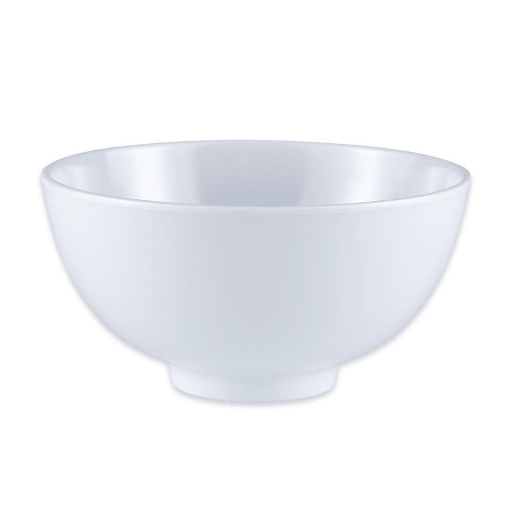"GET M-768-W 4.5"" Round Rice Bowl w/ 9 oz Capacity, Melamine, White"