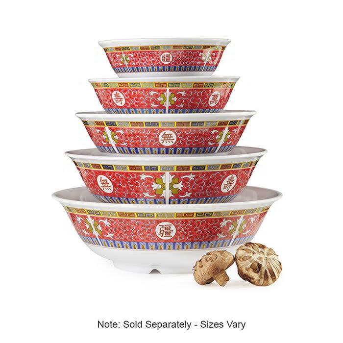 "GET M-810-L 6.5"" Round Rice Bowl w/ 24-oz Capacity, Melamine, White"