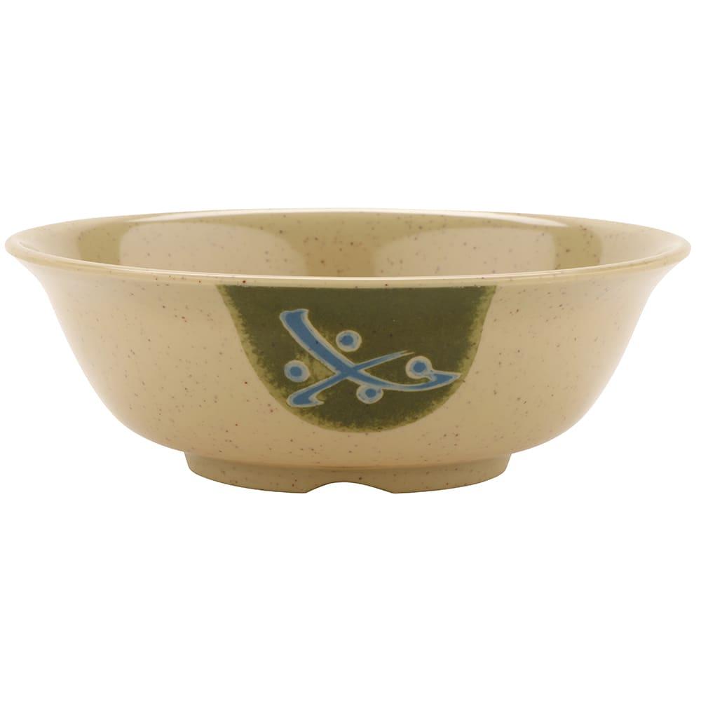 "GET M-810-TD 6.5"" Round Rice Bowl w/ 24-oz Capacity, Melamine, Brown"