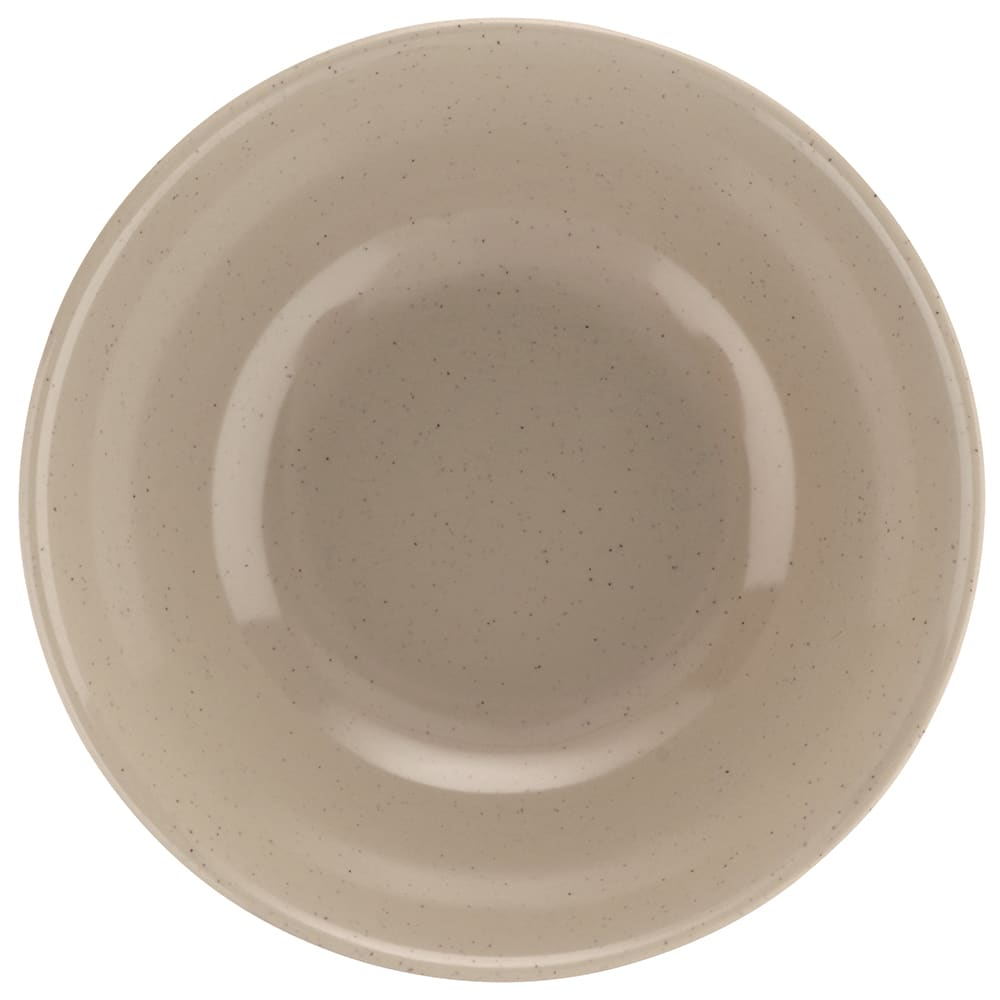 "GET M-811-S 7.5"" Round Rice Bowl w/ 1 qt Capacity, Melamine, Brown"