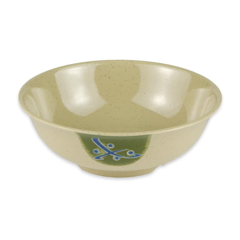 "GET M-811-TD 7.5"" Round Rice Bowl w/ 1 qt Capacity, Melamine, Brown"
