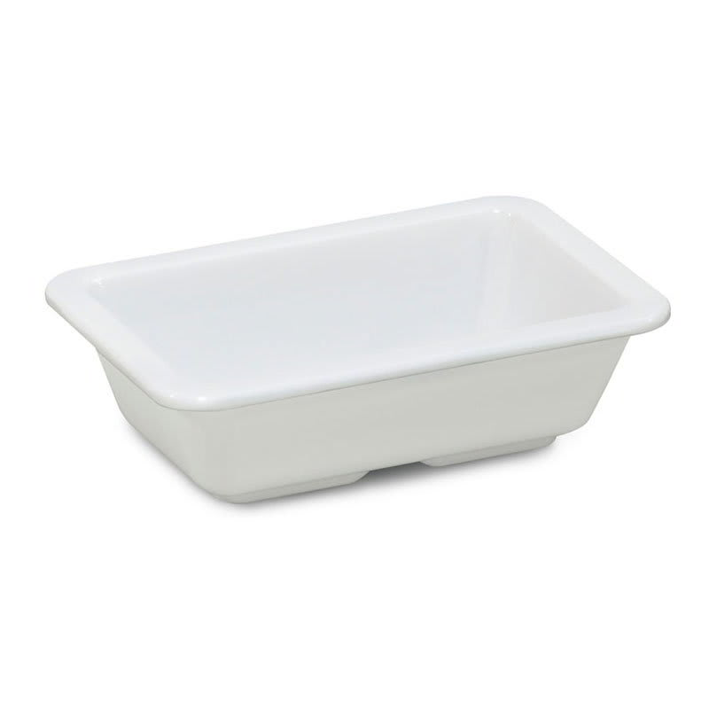 "GET ML-123-W Rectangular Side Dish, 3"" x 4.75"", Melamine, White"