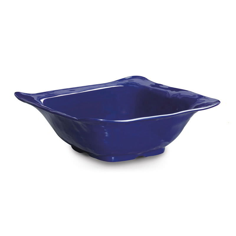 "GET ML-132-CB 15"" Round Serving Bowl w/ 6-qt Capacity, Melamine, Blue"
