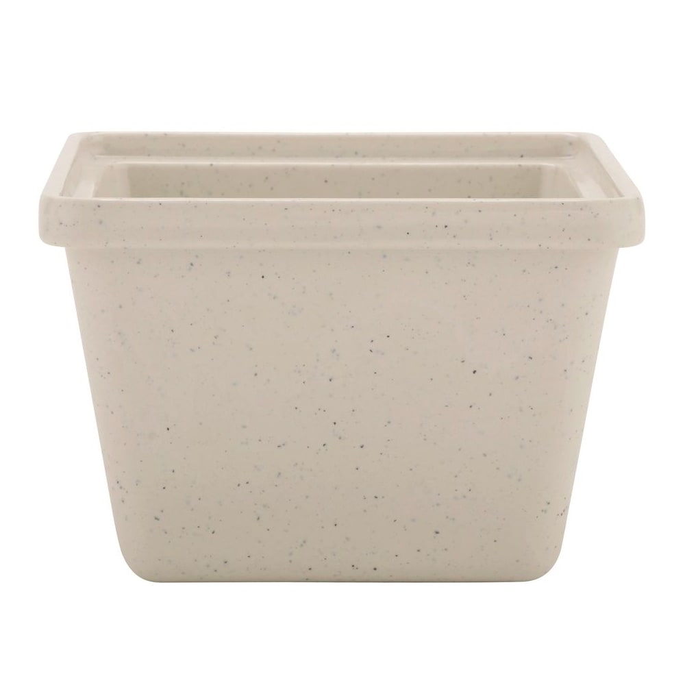 GET ML-148-IR 28-oz Salad Crock, Melamine, Ironstone