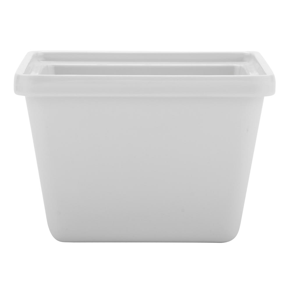 GET ML-148-W 28-oz Salad Crock, Melamine, White