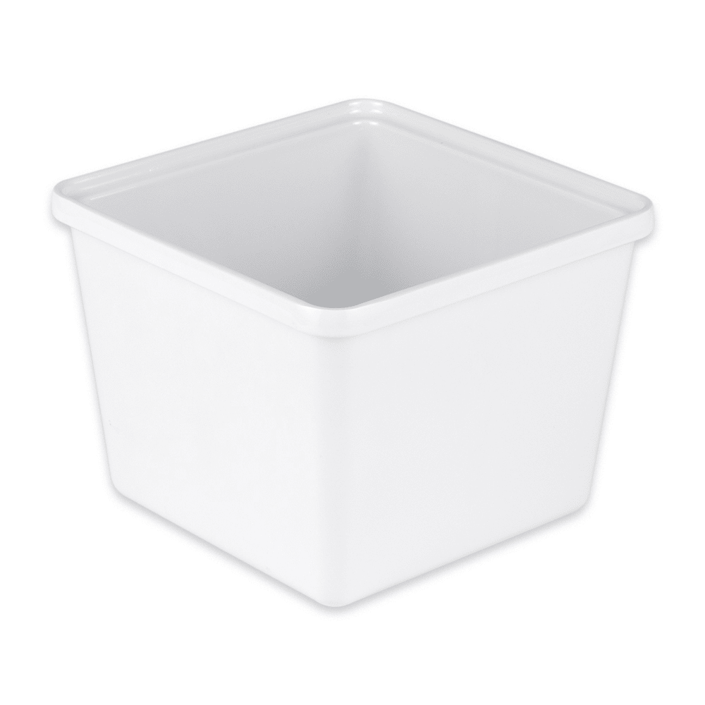 GET ML-149-W 2-qt Salad Crock, Melamine, White