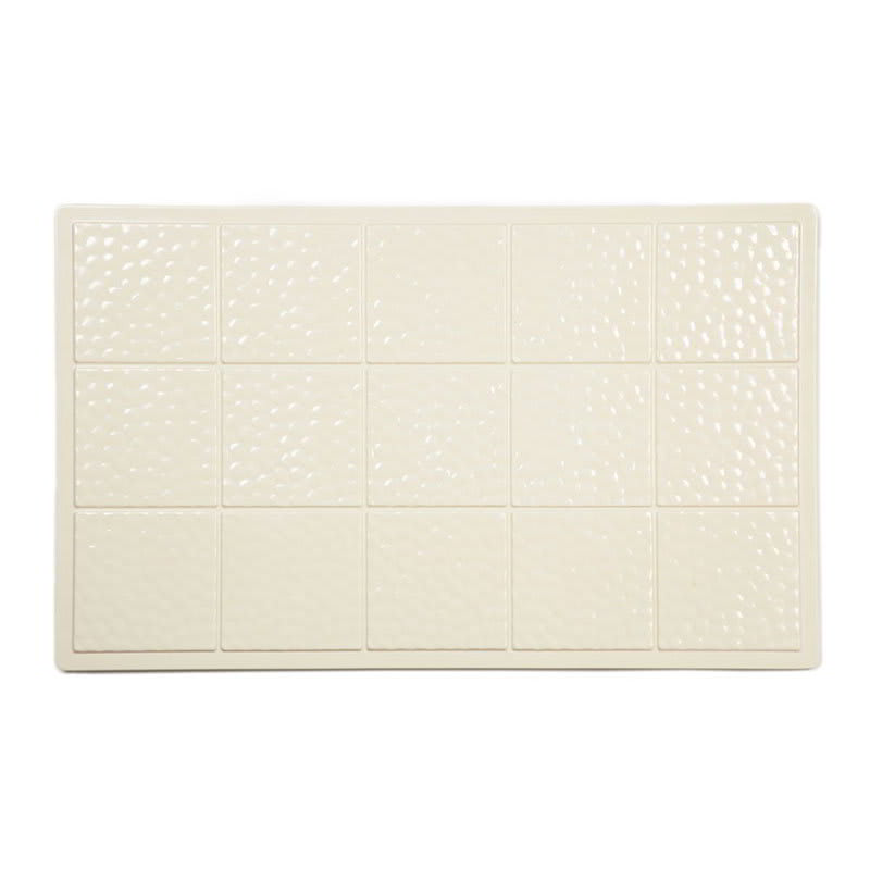 GET ML-160-IV Full-Size Tile, Solid, Melamine, Ivory