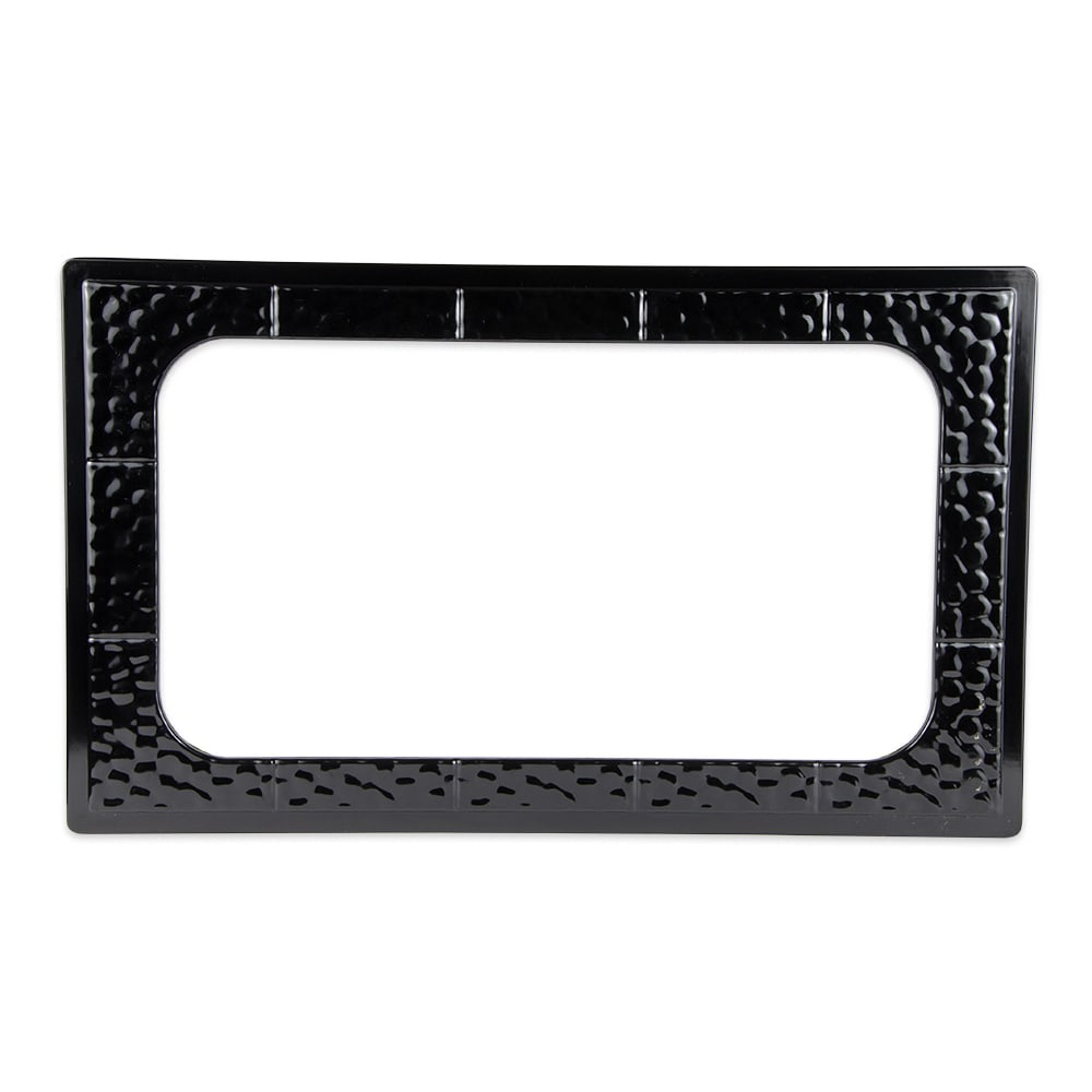 GET ML-163-BK Full Size Tile w/ Cut-Out for ML-176, Melamine, Black