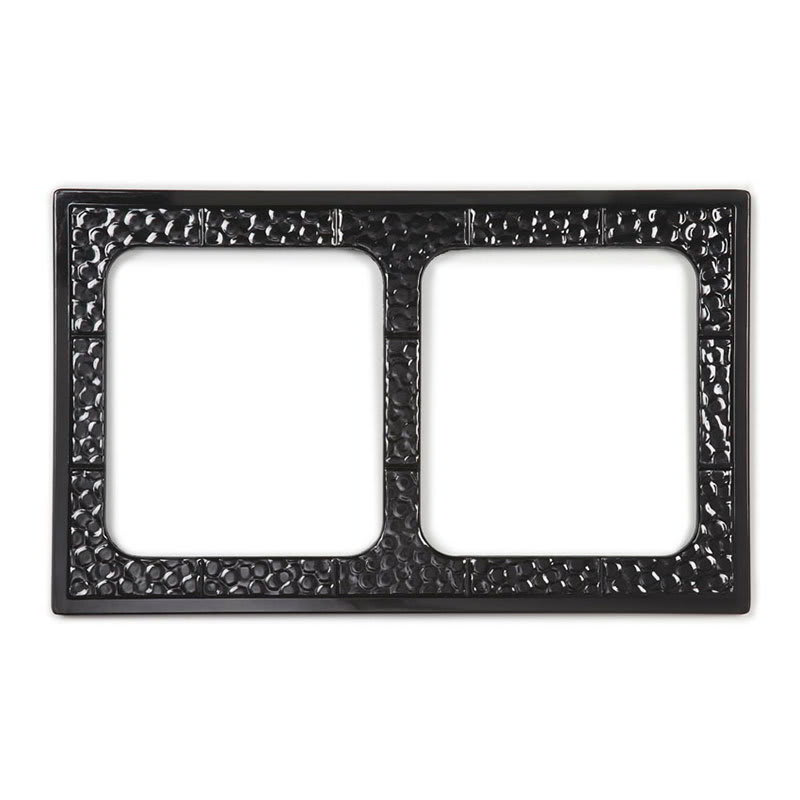 GET ML-169-BK Full Size Tile w/ (2) Cut-Outs for ML-177, Melamine, Black