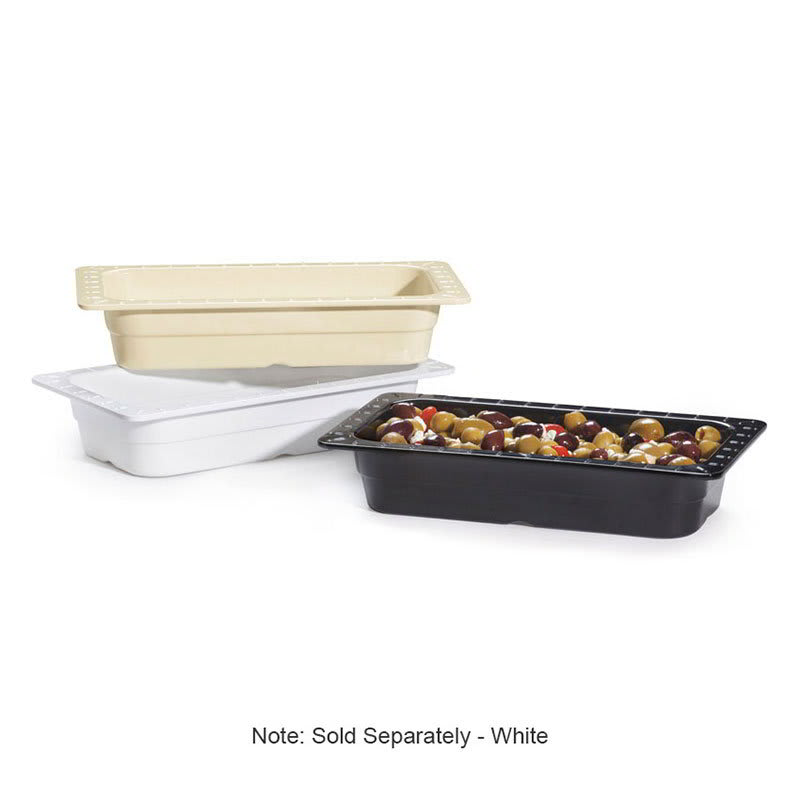 GET ML-17-W 1/3-Size Food Pan, Melamine, White