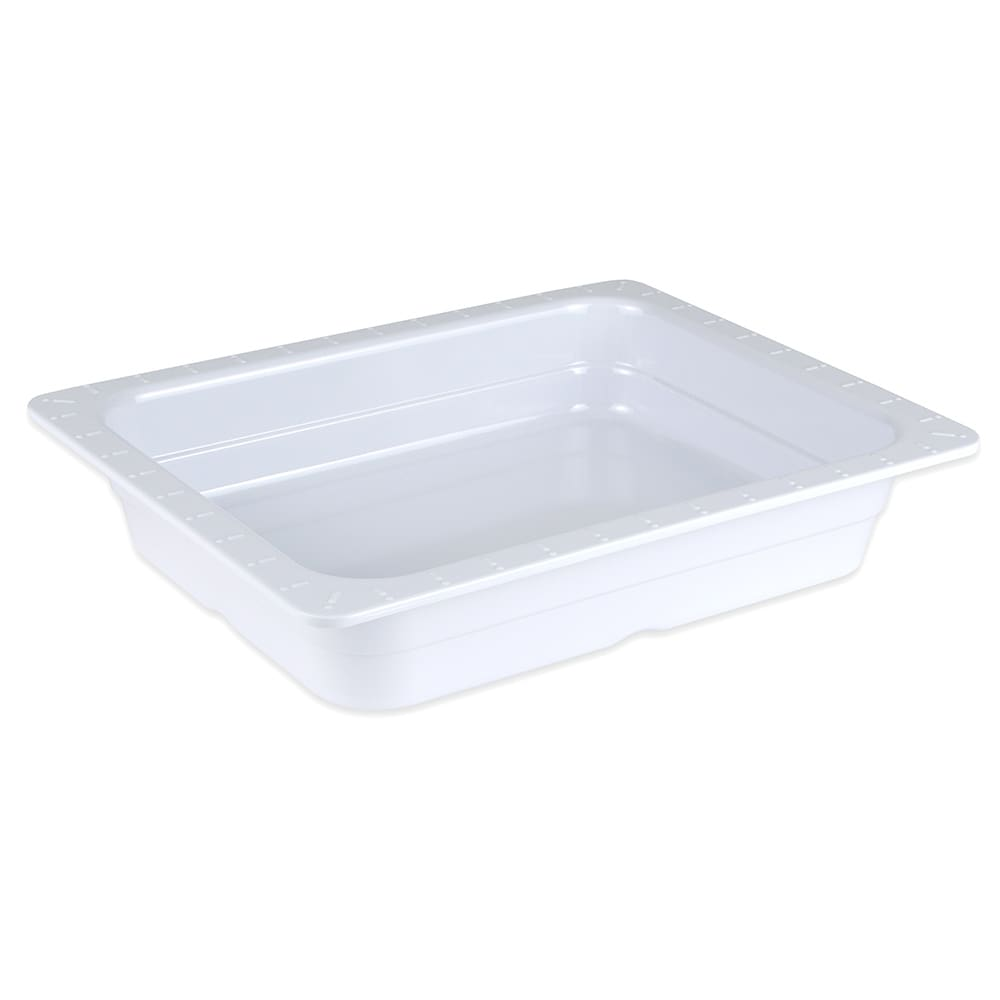 GET ML-18-W 1/2-Size Food Pan, Melamine, White