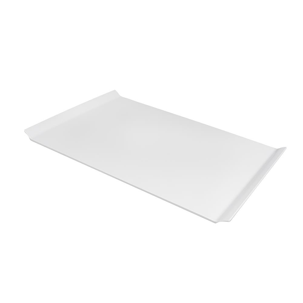 """GET ML-214-W Rectangular Serving Platter, 26"""" x 18"""", Melamine, White"""