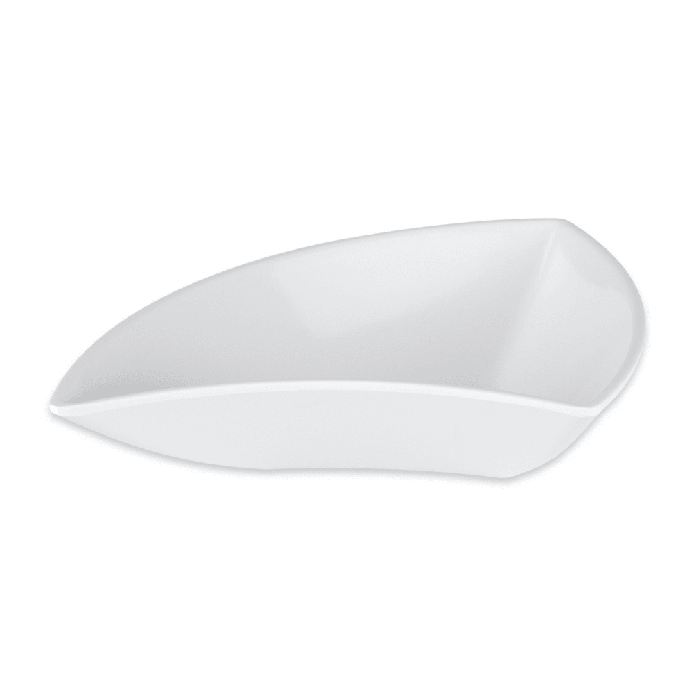 "GET ML-215-W 5.5"" Round Cereal Bowl w/ 10-oz Capacity, Melamine, White"
