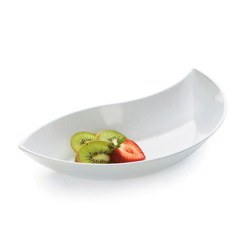 "GET ML-216-W 11"" Round Salad Bowl w/ 20 oz Capacity, Melamine, White"