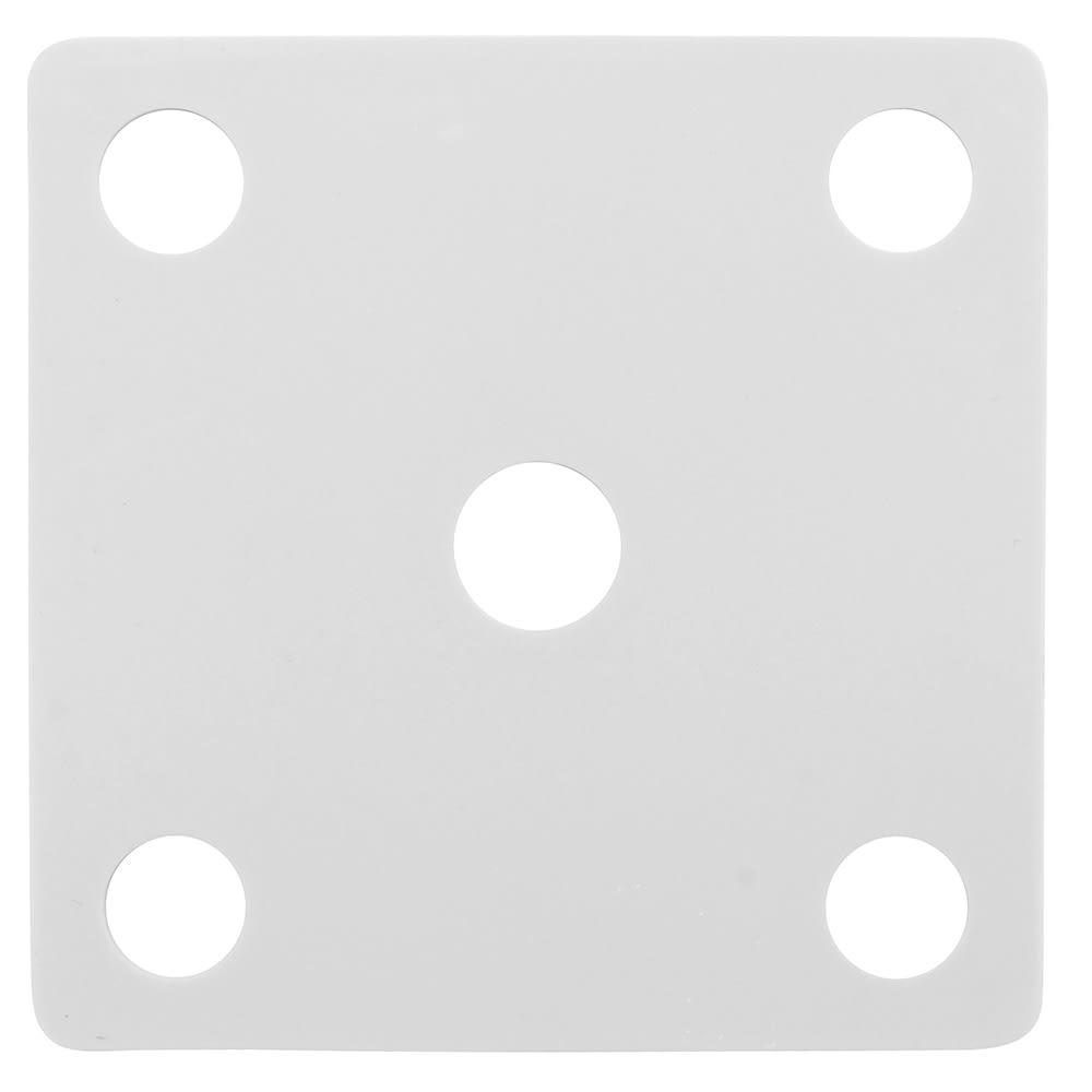 GET ML-222-W False Bottom for ML-148 w/ Holes, Melamine, White