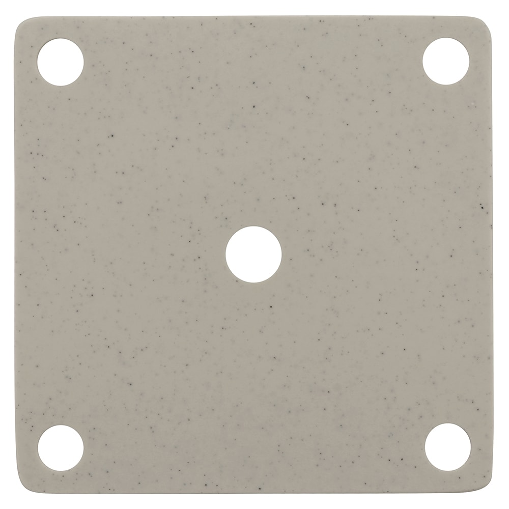 GET ML-223-IR False Bottom for ML-149 w/ Holes, Melamine, Ironstone