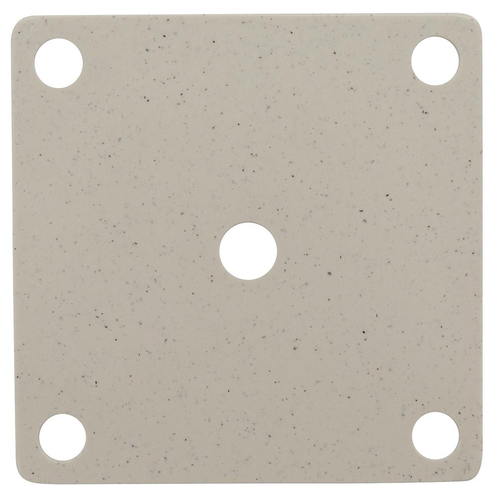 GET ML-224-IR False Bottom for ML-150 w/ Holes, Melamine, Ironstone