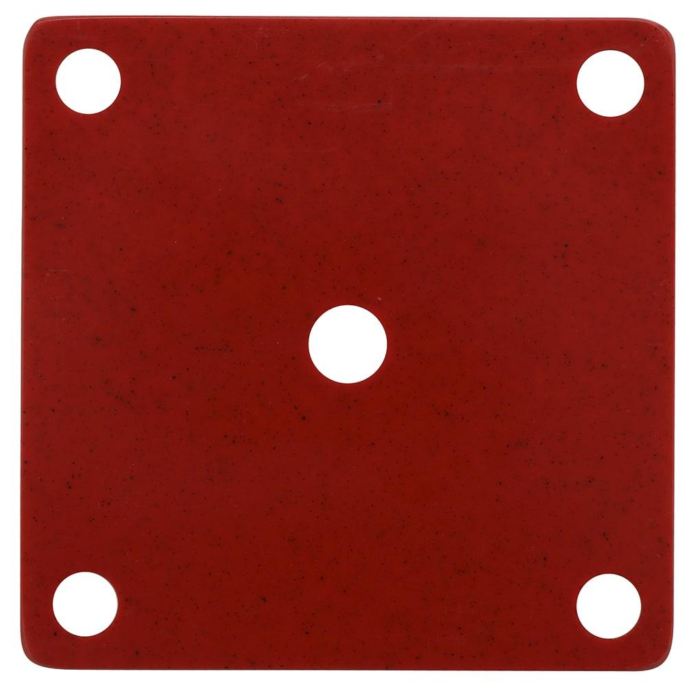GET ML-224-RSP False Bottom for ML-150 w/ Holes, Melamine, Red