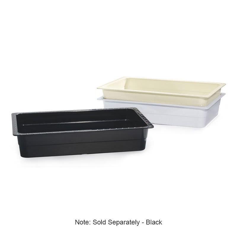 GET ML-22-BK Full-Size Food Pan, Melamine, Black