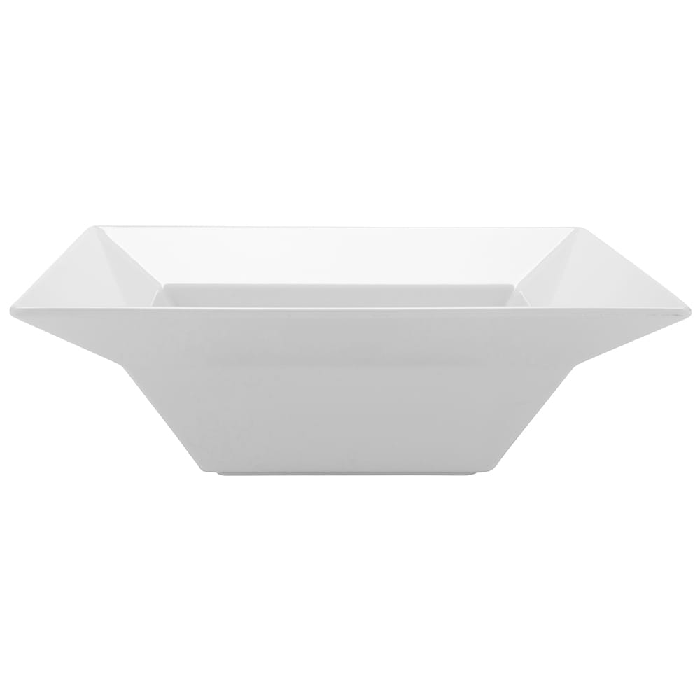 "GET ML-245-W 12"" Round Serving Bowl w/ 3.8 qt Capacity, Melamine, White"