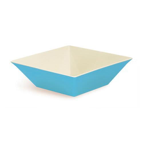 "GET ML-249-SE 16"" Square Serving Bowl w/ 12.8-qt Capacity, Melamine, Blue"