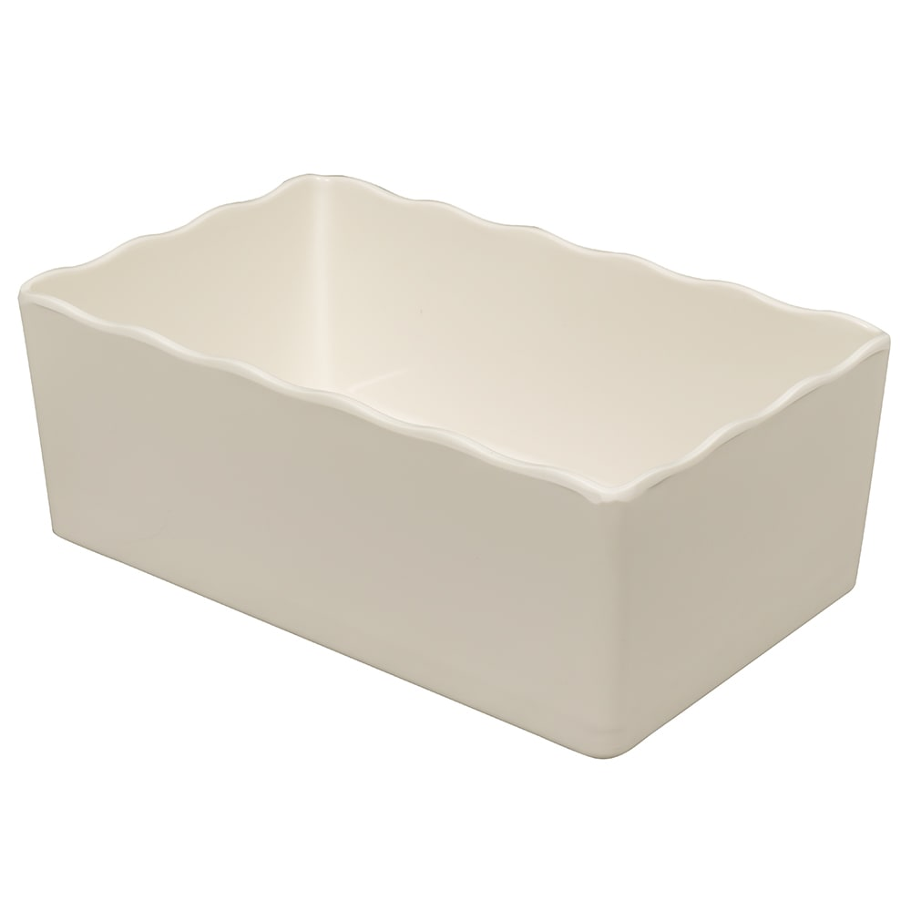 GET ML-261-IV 3.4-qt Salad Bar Crock, Melamine, Ivory