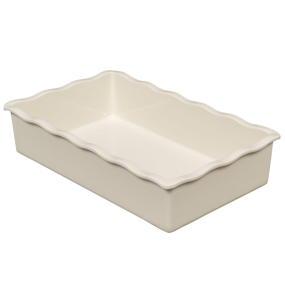 GET ML-262-IV 2-qt Salad Bar Crock Insert for ML-261, Melamine, Ivory