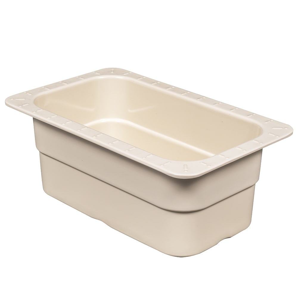 GET ML-28-IV 1/4 Size Food Pan, Melamine, Ivory