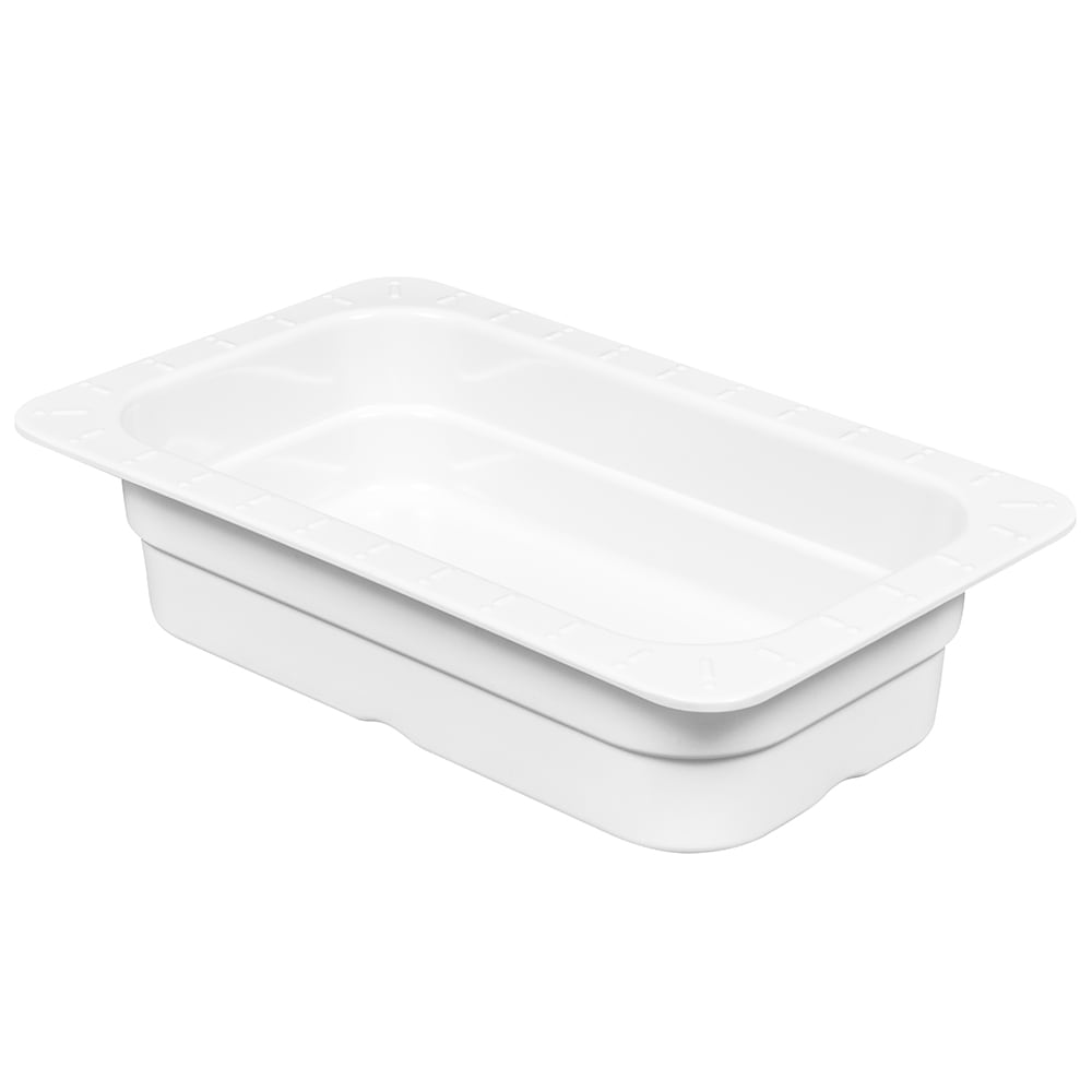 GET ML-29-W 1/4 Size Food Pan, Melamine, White