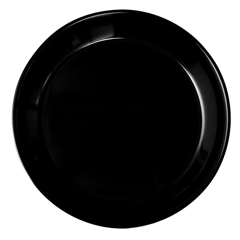 "GET ML-76-BK 13.25"" Round Pasta Bowl w/ 2-qt Capacity, Melamine, Black"