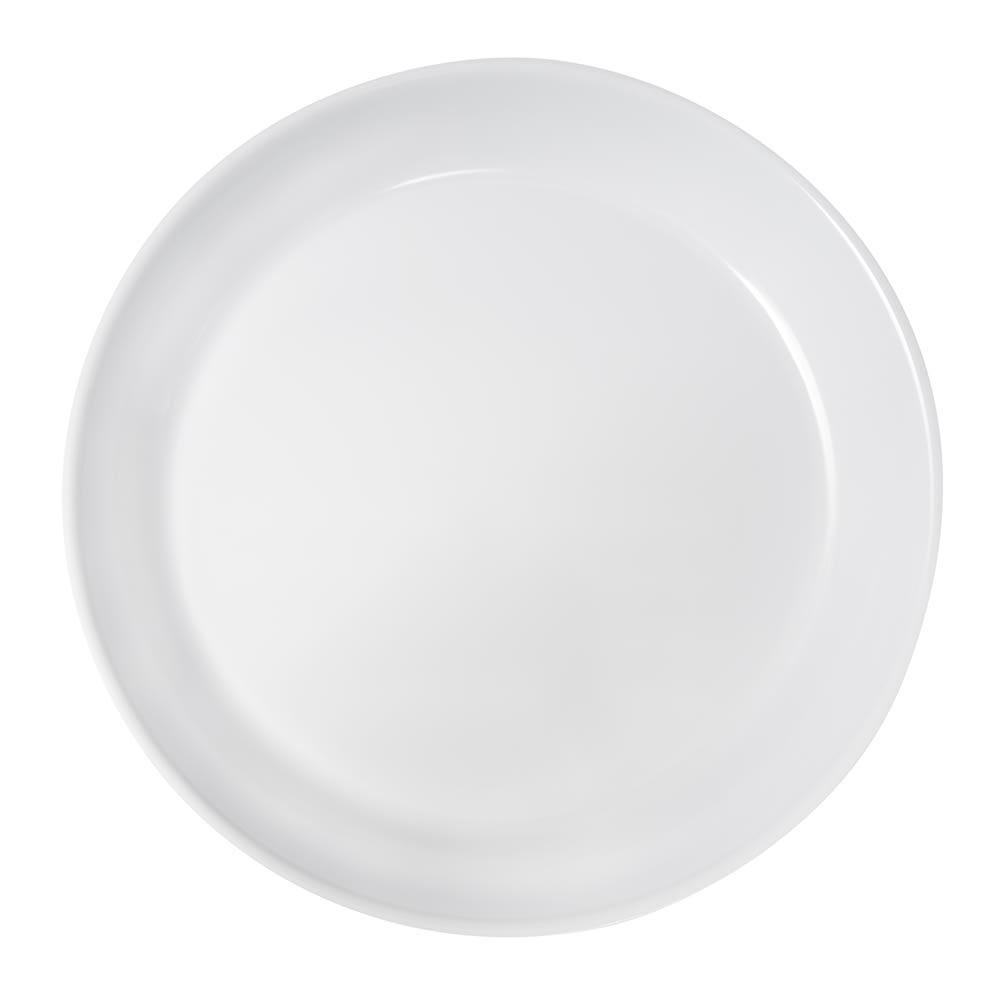 "GET ML-76-W 13.25"" Round Pasta Bowl w/ 2-qt Capacity, Melamine, White"