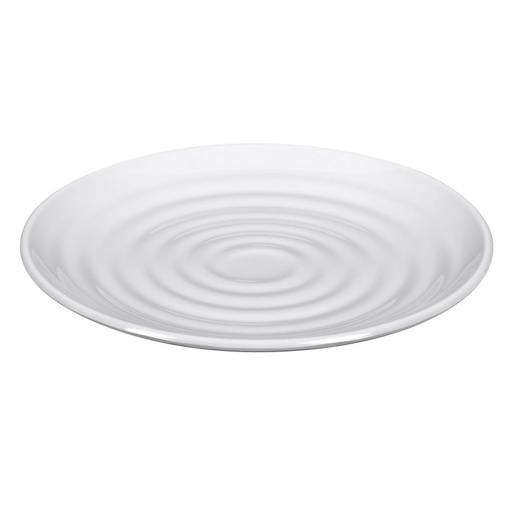 """GET ML-80-W 7.5"""" Round Dessert Plate, Melamine, White"""