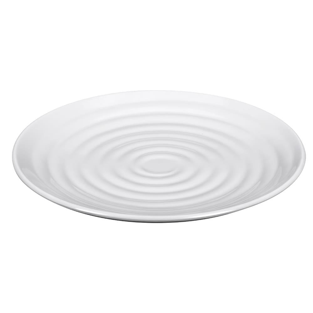 """GET ML-81-W 9.5"""" Round Salad Plate, Melamine, White"""