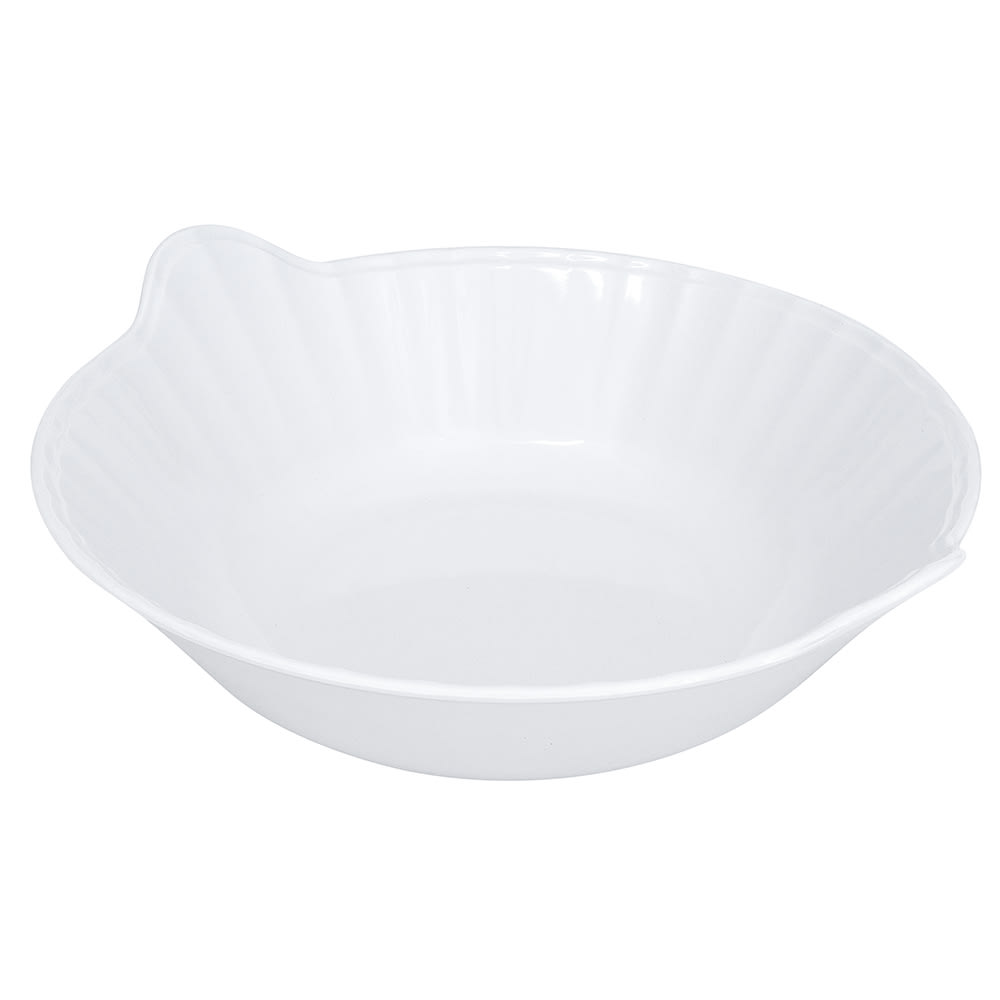 "GET ML-94-W 13.5"" Round Serving Bowl w/ 3-qt Capacity, Melamine, White"