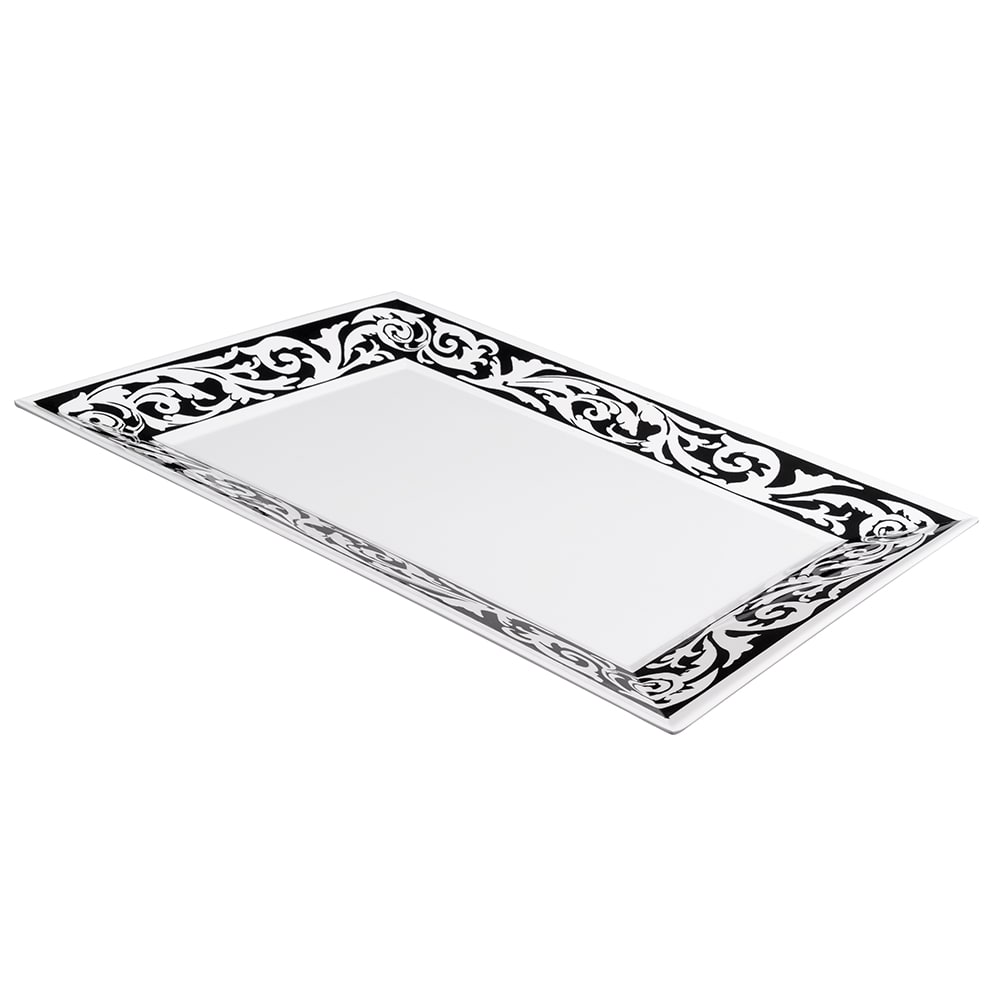 "GET ML-99-SO Rectangular Display Tray, 24"" x 18"", Melamine, White"