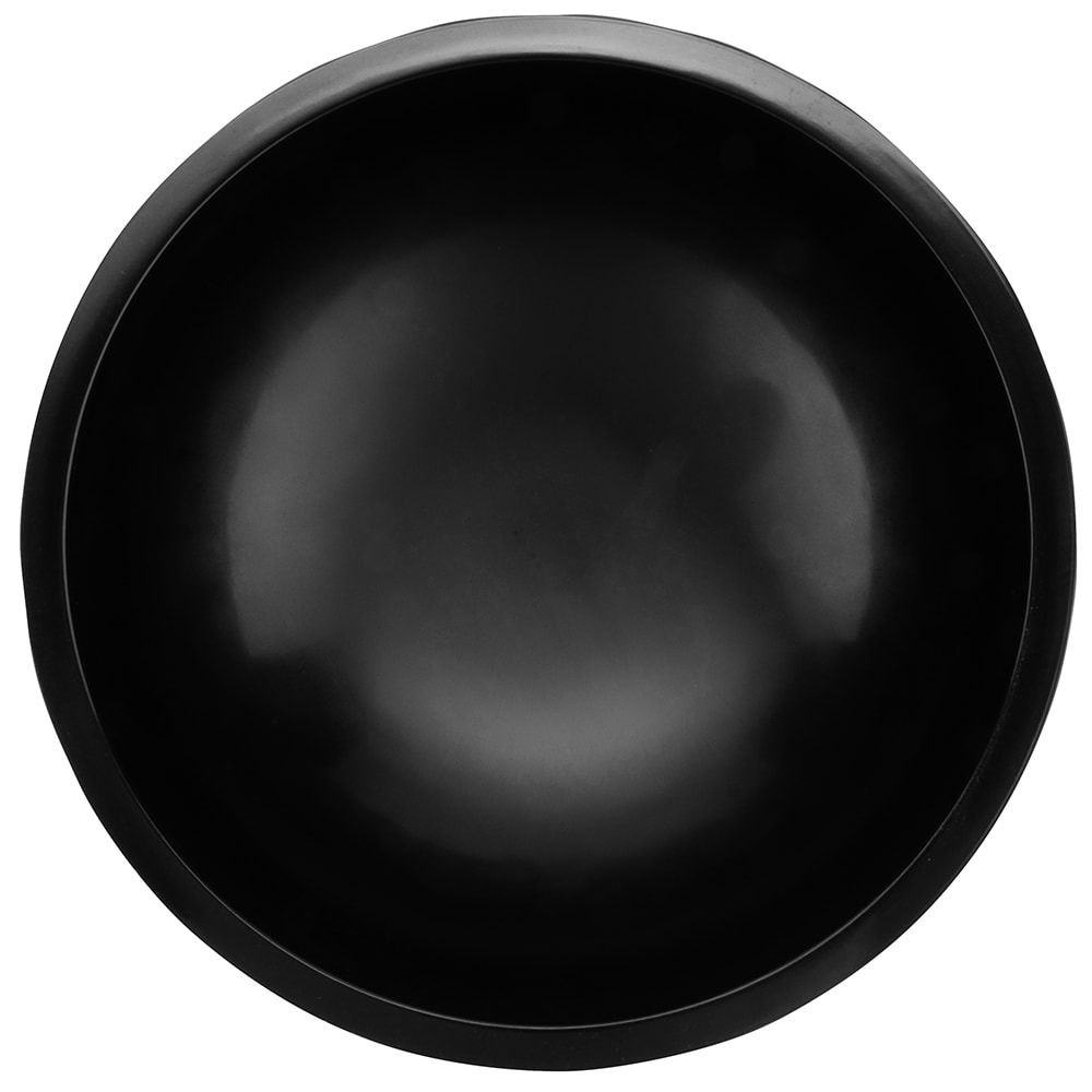 GET MOJ-804-BK 64 oz Molcajete Bowl, Dishwasher Safe, Melamine, Black
