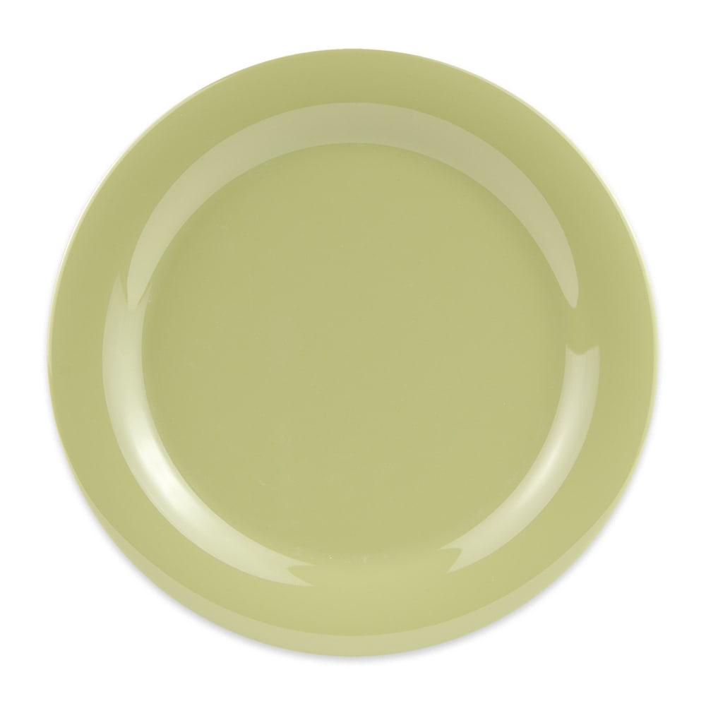 """GET NP-10-AV 10.5"""" Round Dinner Plate, Melamine, Avocado"""