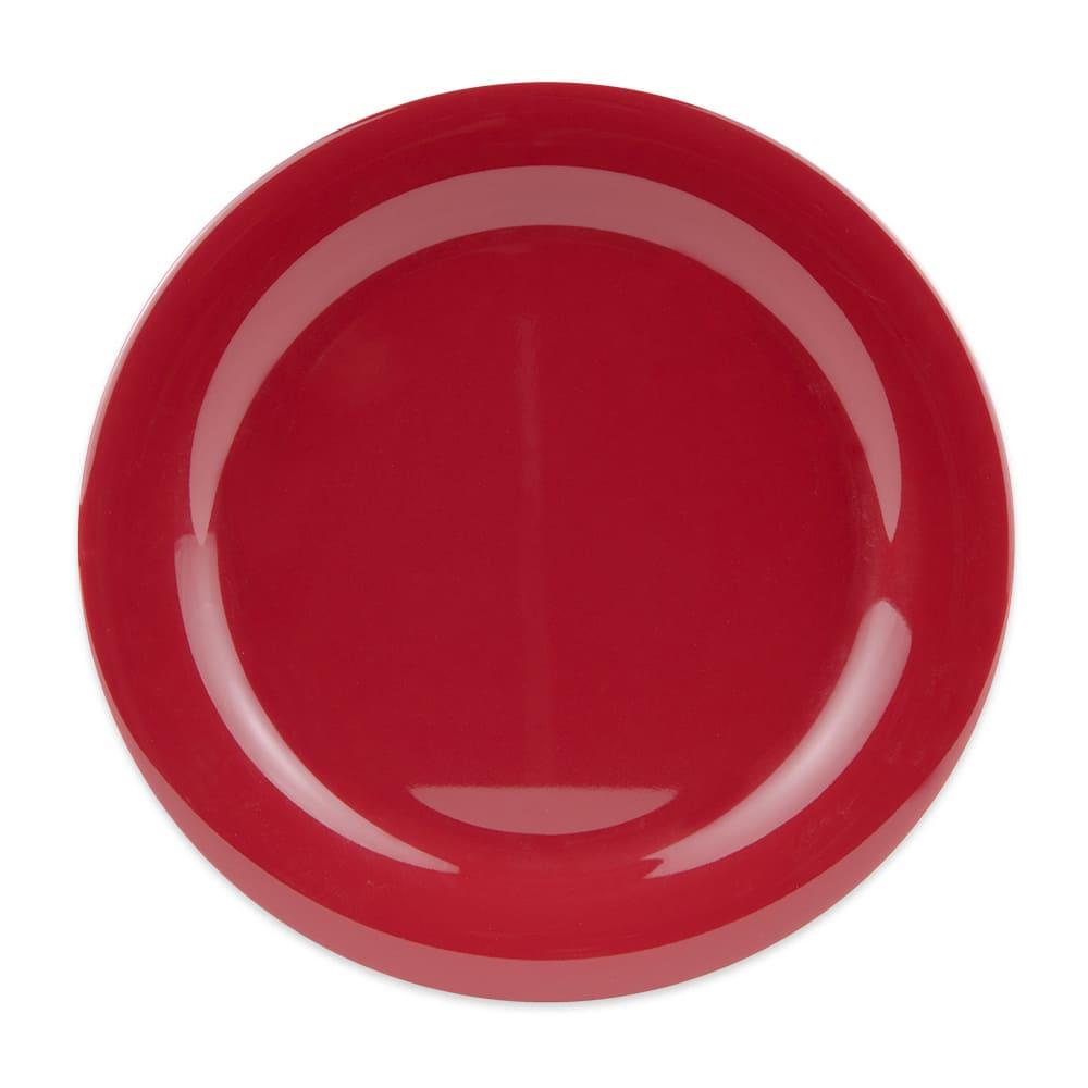 "GET NP-10-CR 10.5"" Round Dinner Plate, Melamine, Cranberry"