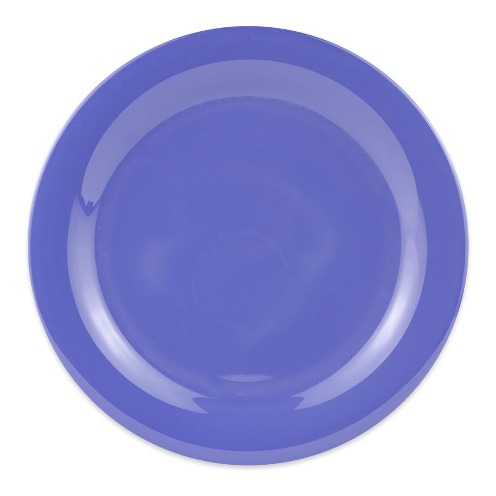 "GET NP-10-PB 10.5"" Round Dinner Plate, Melamine, Blue"