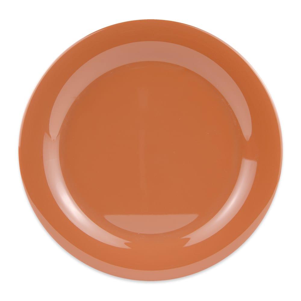 "GET NP-10-PK 10.5"" Round Dinner Plate, Melamine, Orange"