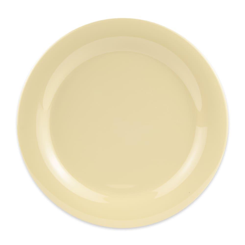 "GET NP-10-SQ 10.5"" Round Dinner Plate, Melamine, Squash"