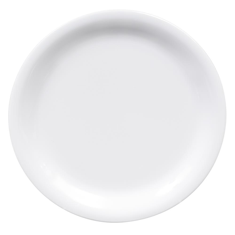 """GET NP-6-DW 6.5"""" Round Dessert Plate, Melamine, White"""