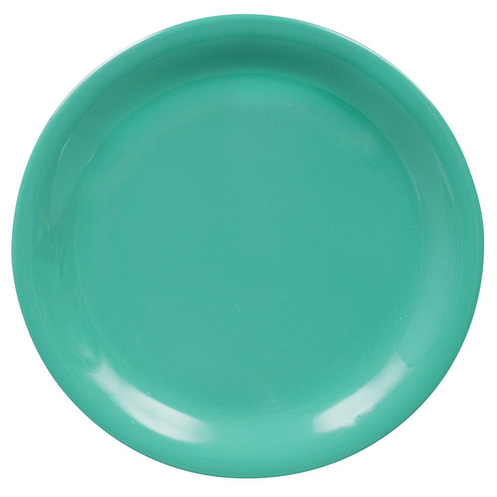 """GET NP-6-FG 6.5"""" Round Dessert Plate, Melamine, Green"""