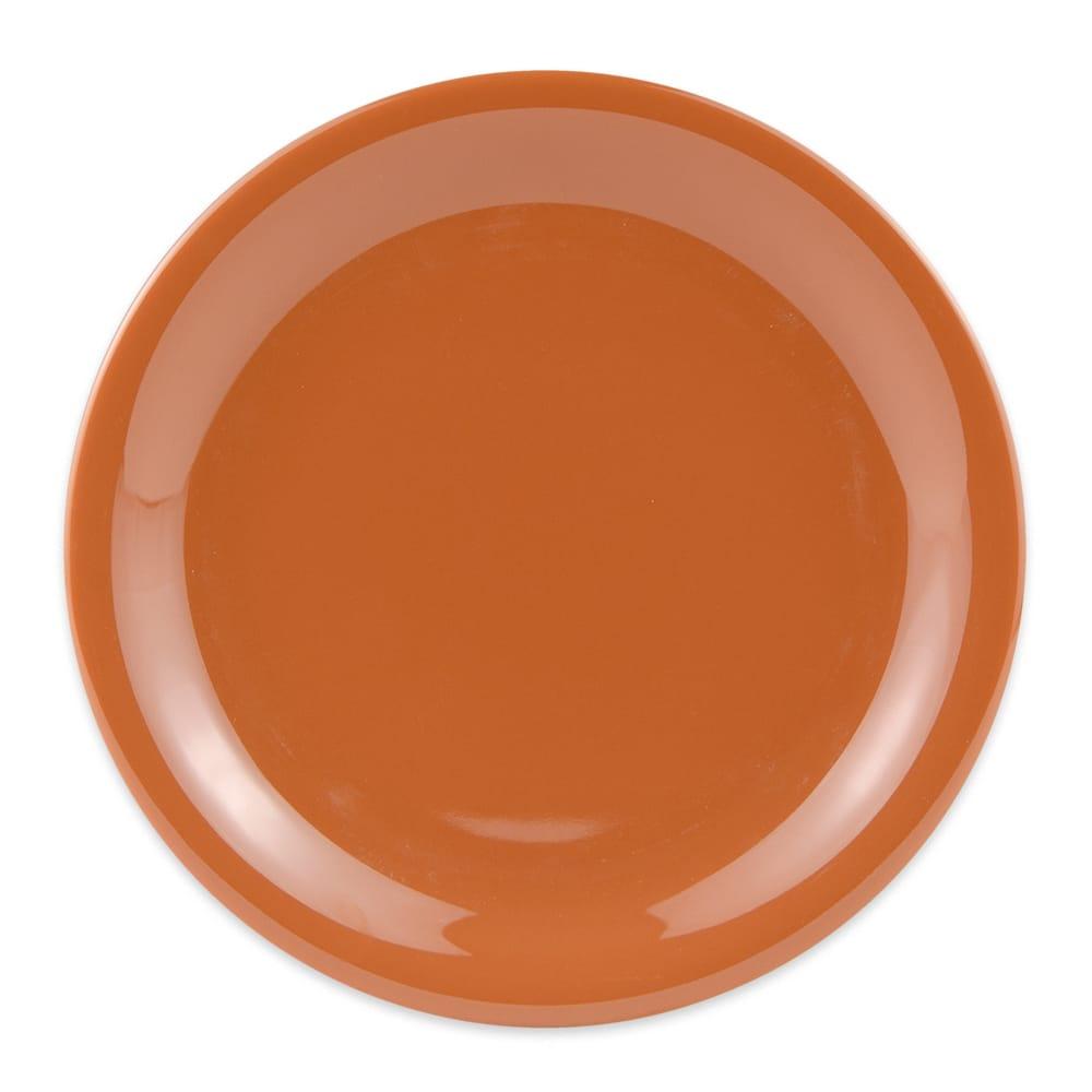 "GET NP-6-PK 6.5"" Round Dessert Plate, Melamine, Pumpkin"