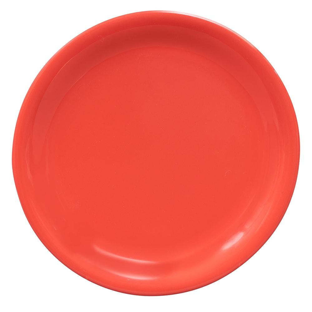 """GET NP-6-RO 6.5"""" Round Dessert Plate, Melamine, Orange"""