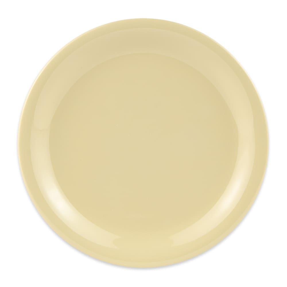 """GET NP-6-SQ 6.5"""" Round Dessert Plate, Melamine, Squash"""