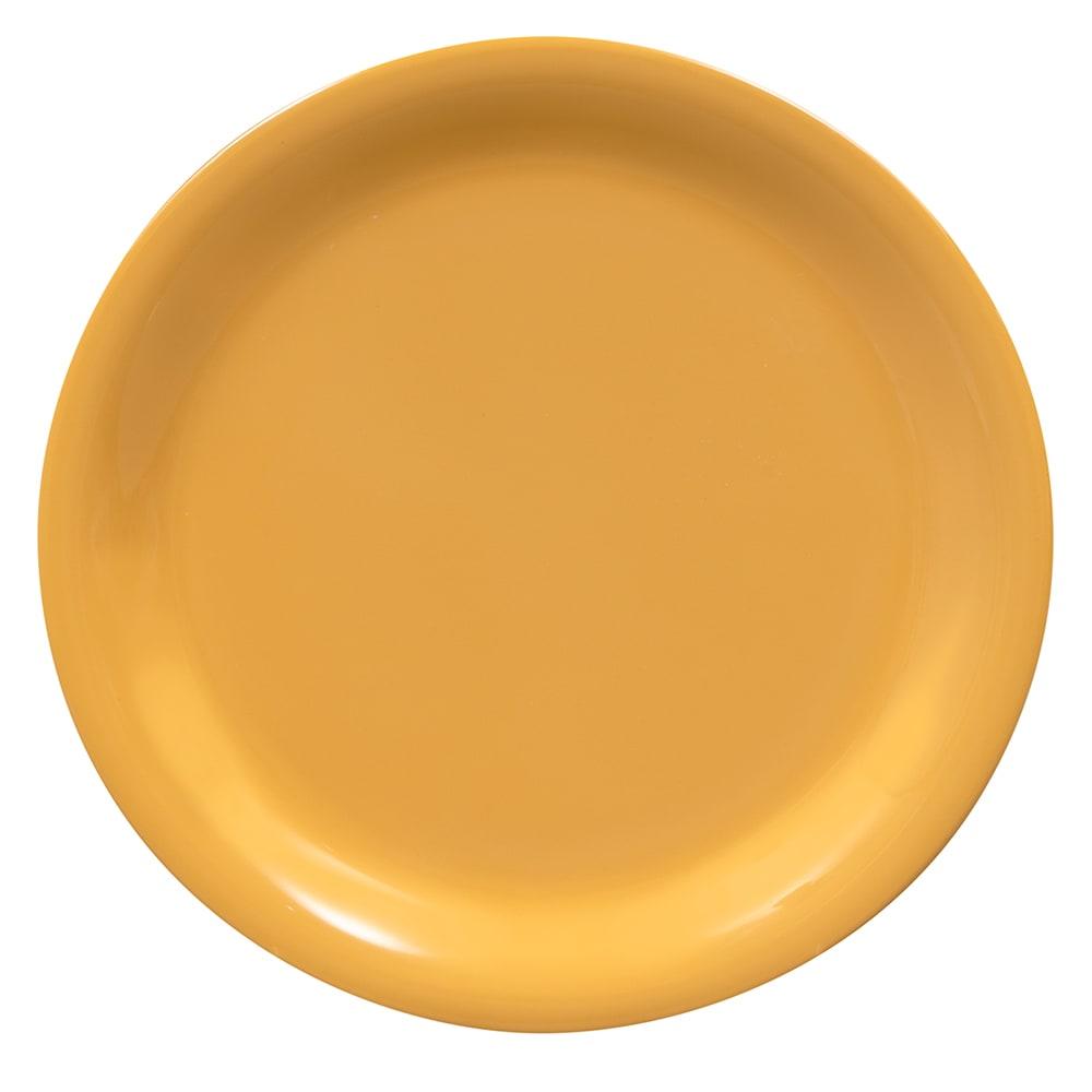 """GET NP-6-TY 6.5"""" Round Dessert Plate, Melamine, Yellow"""