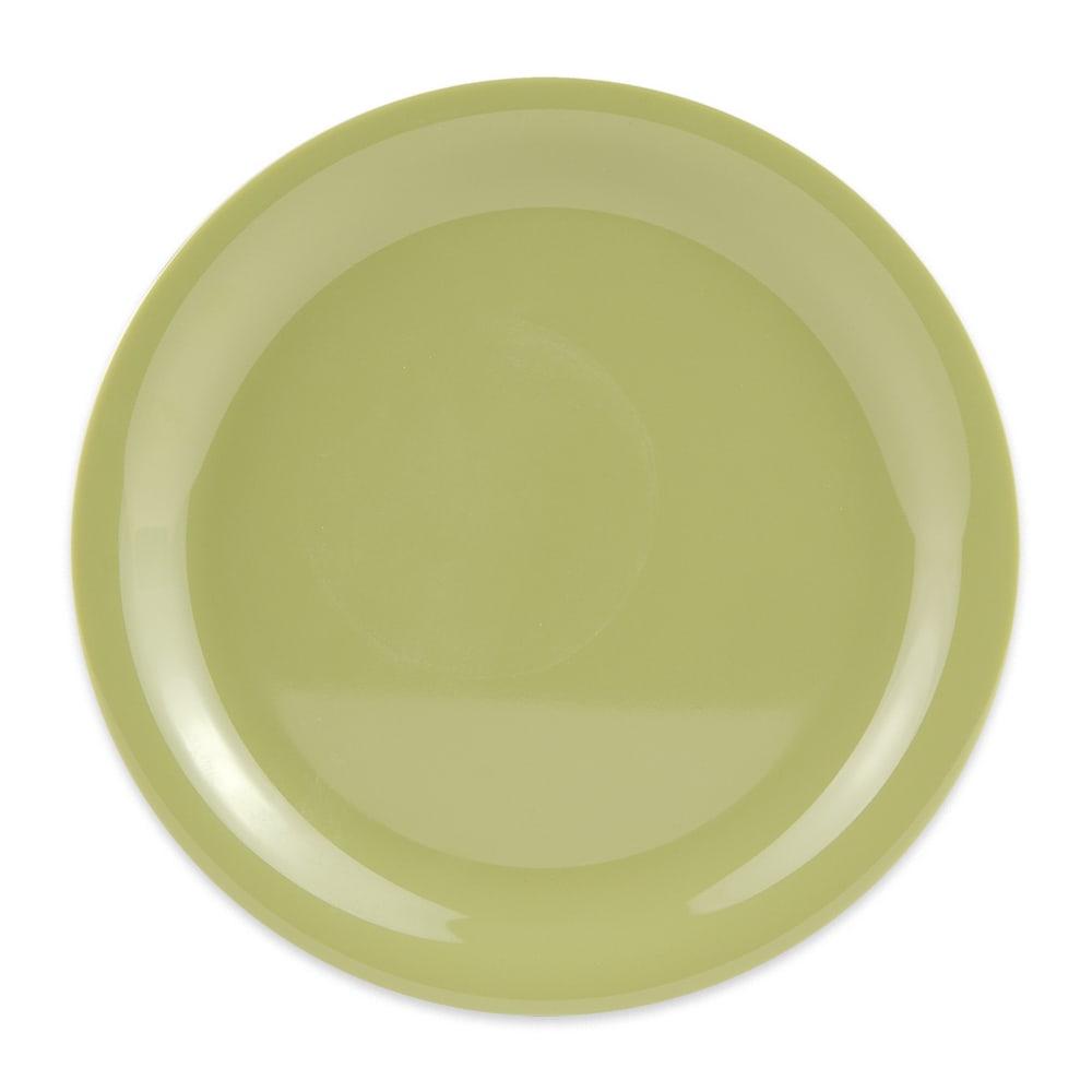 "GET NP-7-AV 7.25"" Round Salad Plate, Melamine, Avocado"