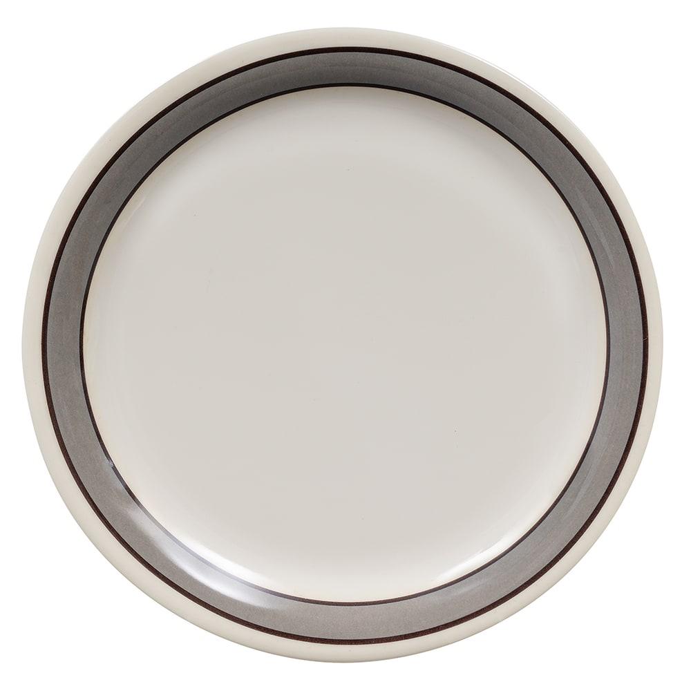 "GET NP-7-CA 7.25"" Round Salad Plate, Melamine, White"